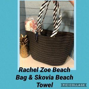 Rachel Zoe Beach Bag & Skova Beach towel